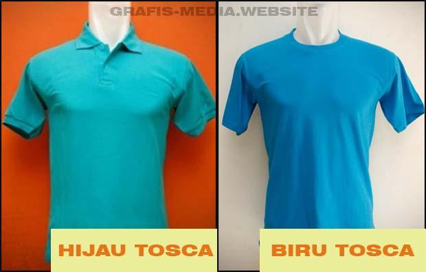 Baju Warna Hijau Tosca Biru