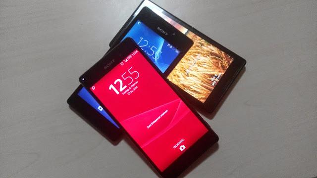 Handphone Sony Xperia