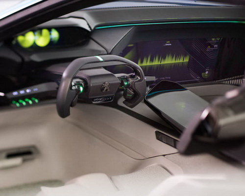 Tinuku.com Peugeot Instinct concept brings latest technology autonomous car and learn user habits to manage system