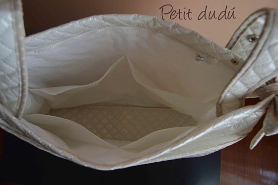 Bolso Plastificado para Silla Bebé Petitdudu