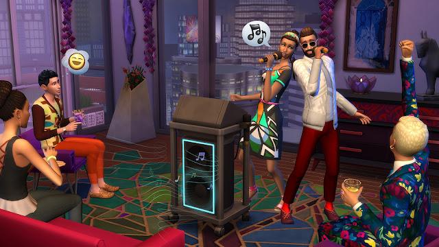 Imagen del videojuego los sims 4 urbanitas