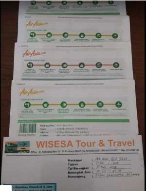 Reservasi Tiket Air Asia Murah Hanya di Wisesatravel
