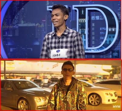 PENAMPILAN AWEK CENDOL DALAM VIDEO KLIP GABE WELY YANG PERNAH VIRAL DENGAN VIDEO LUCU SEMASA AUDITON INDONESIA IDOL. 2017