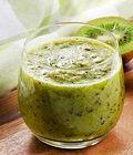 Jus kiwi mix teh hijau