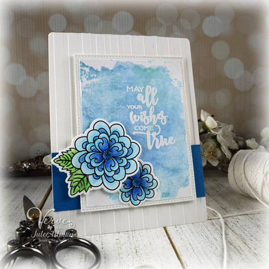 Card by Julee Tilman using Verve Stamps.