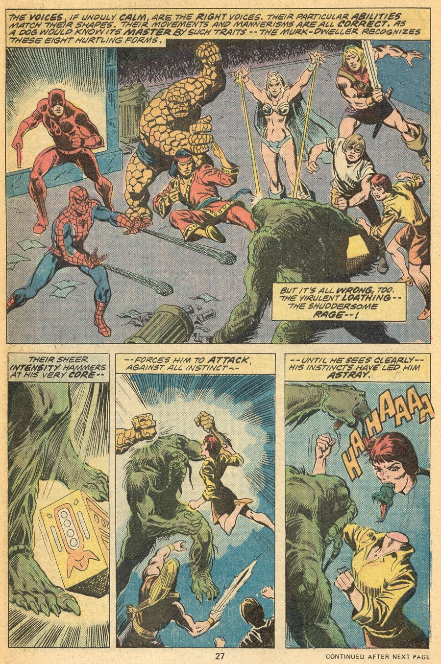 Man-Thing (1974) issue 20 - Page 18