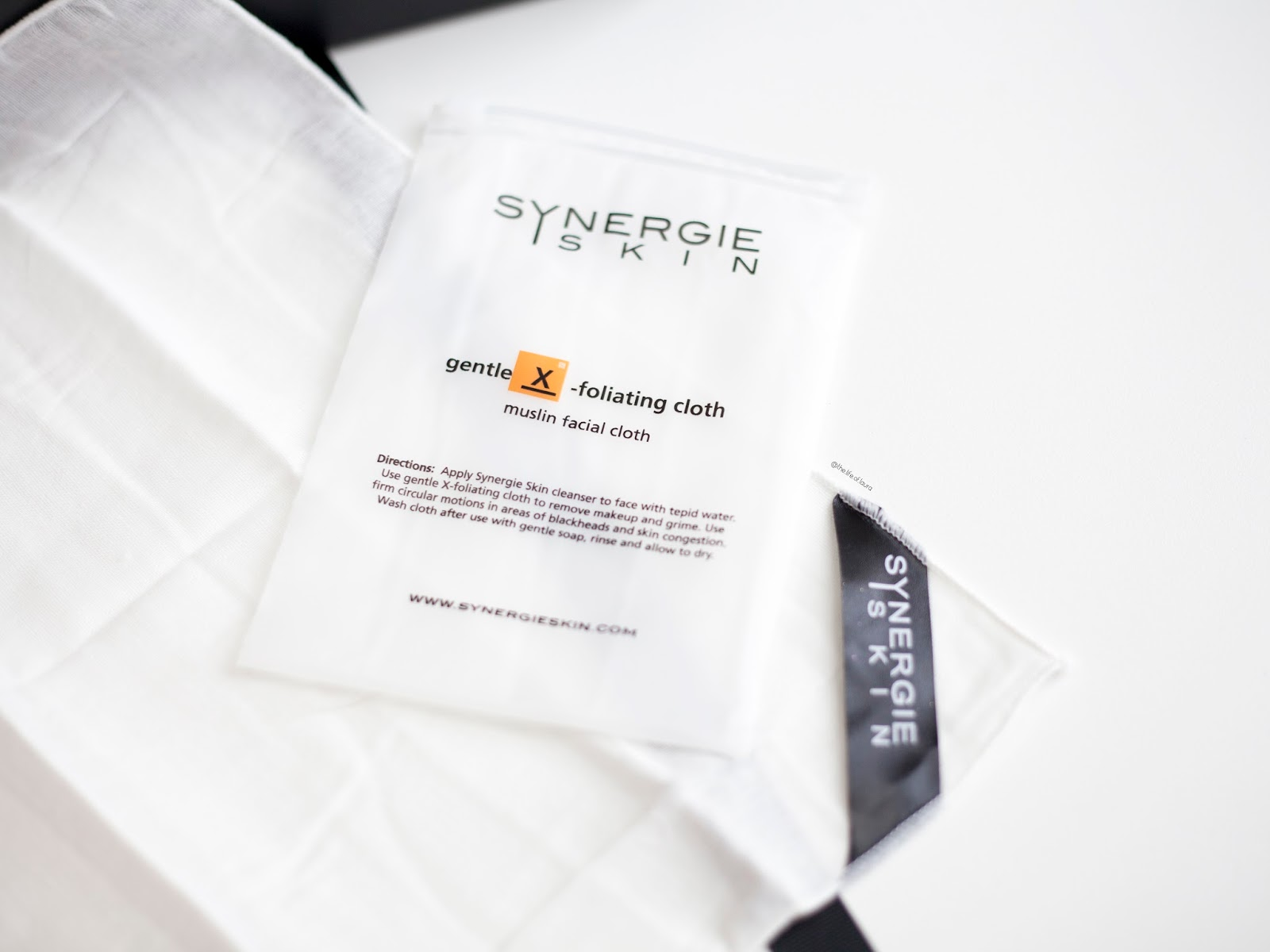 Synergie Skin DermaRadiance Essentials XFoliating Cloth