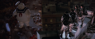 Ghostbusters 1984 screenshot Stay Puft Marshmallow Man
