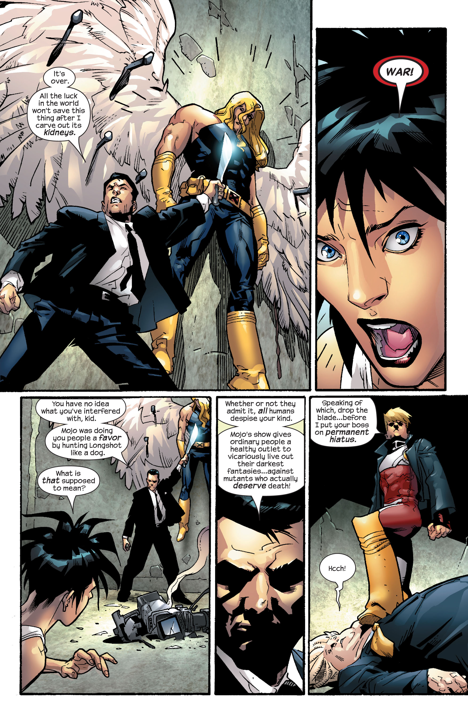 Read online Ultimate X-Men comic -  Issue #57 - 14