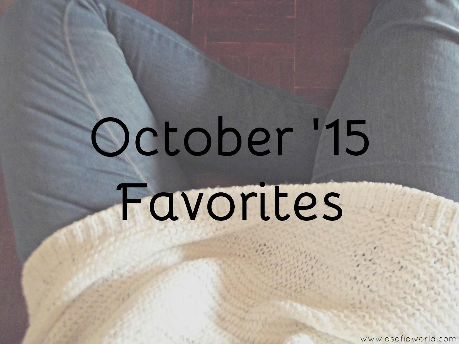Favoritos: Outubro 2015