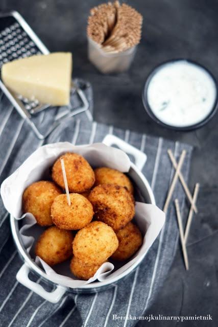 ziemniaki, ser, kulki, kulki ziemniaczane, bernika, kulinarny pamietnik