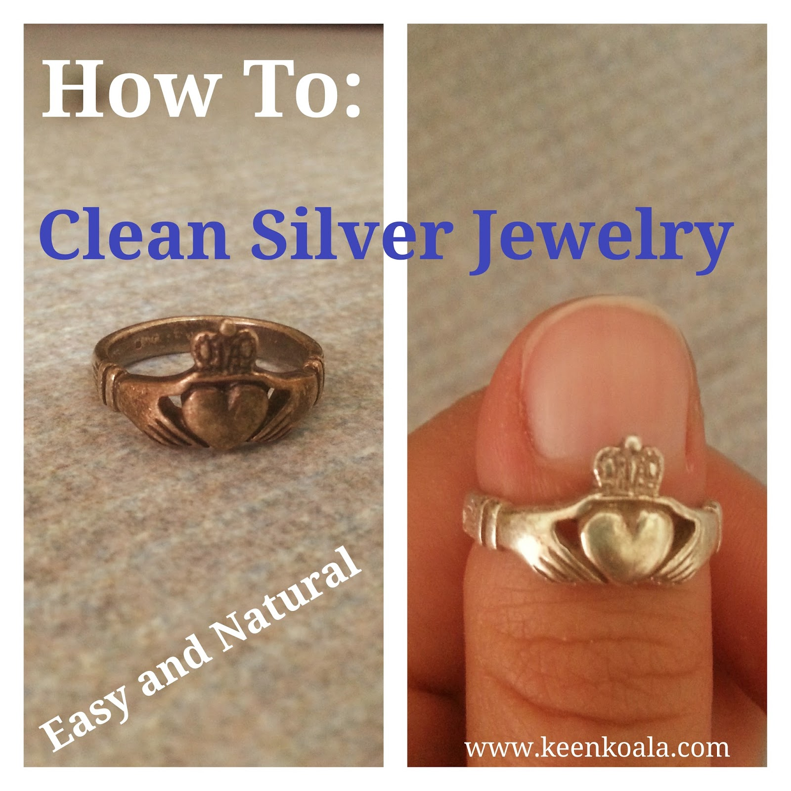 Keen koala how to clean silver jewelry easily and naturally for How to clean jewelry with baking soda