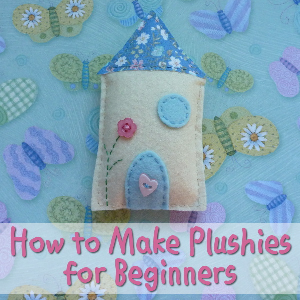 Making plushies for beginners starter tutorial sewing plush items from felt