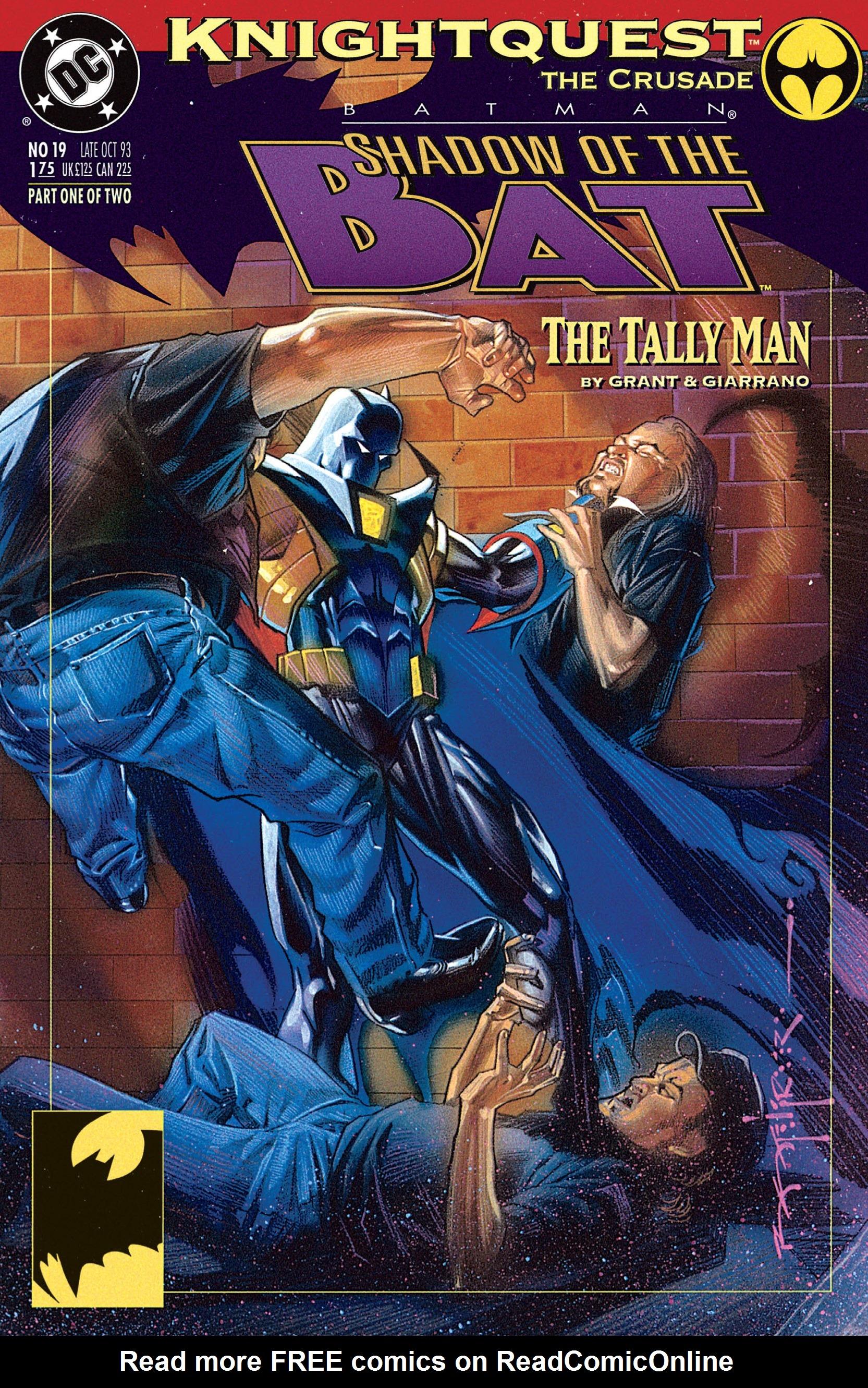 Batman: Shadow of the Bat 19 Page 1