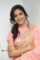 Actress Ritu Varma Pos in Beautiful Pink Anarkali Dress at at Keshava Movie Interview .COM 0376.JPG