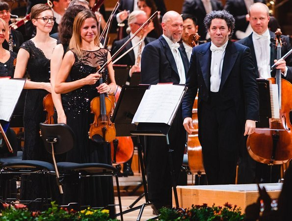 Gothenburg Symphony Orchestra at Gothenburg Concert Hall. The concert was led by conductor and violinist Gustavo Dudamel