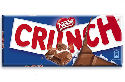 Crunch , tablette de chocolat