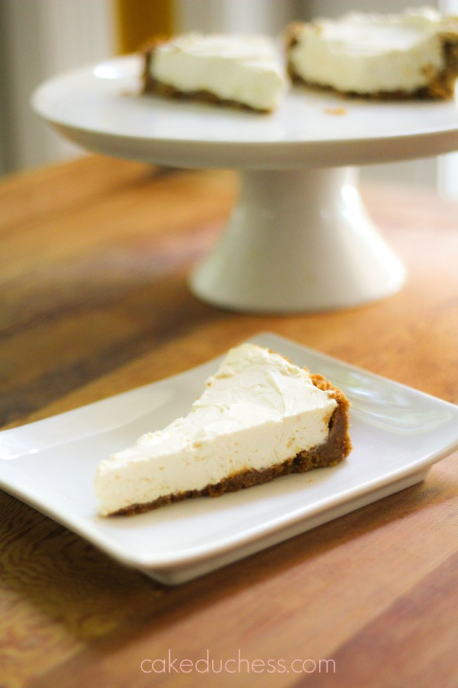 No-Bake Limoncello Cheesecake