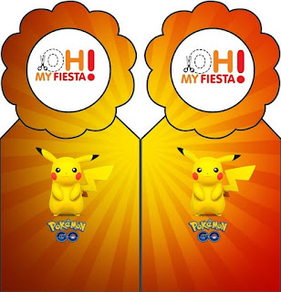 Para marcapáginas de Pikachu.