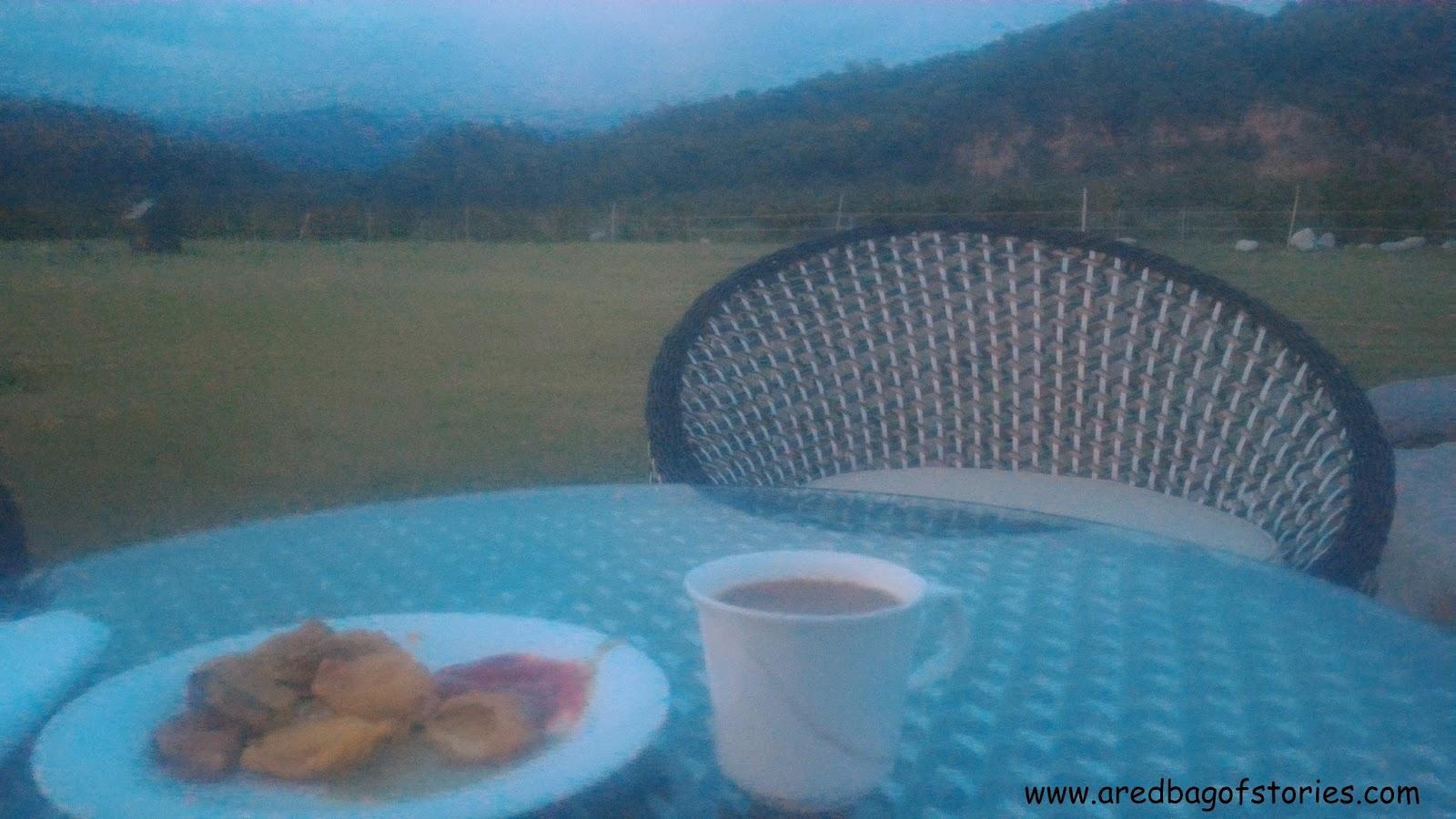 evening snacks at Namah Resort