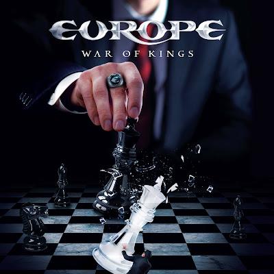 Europe - War of Kings (2015) Album Artwork