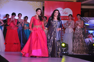 South Indian Celebrities Pos at Love For Handloom Collection Fashion Show  0157.jpg