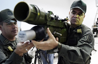 Amid Venezuela Unrest, Experts Worry That Criminals Will Acquire Military's Weapons