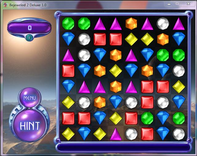 تحميل لعبه Bejeweled 2 Deluxe الجواهر المتشابهه للكمبيوتر برابط مباشر من ميديا فاير
