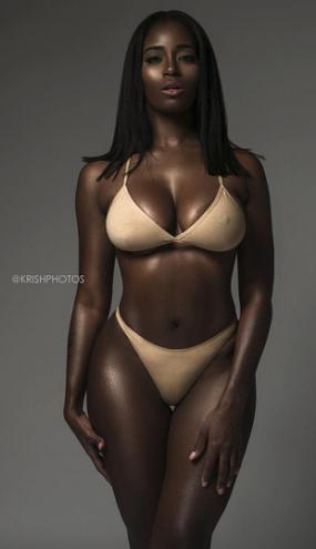 Dark Black Sexy Women 69