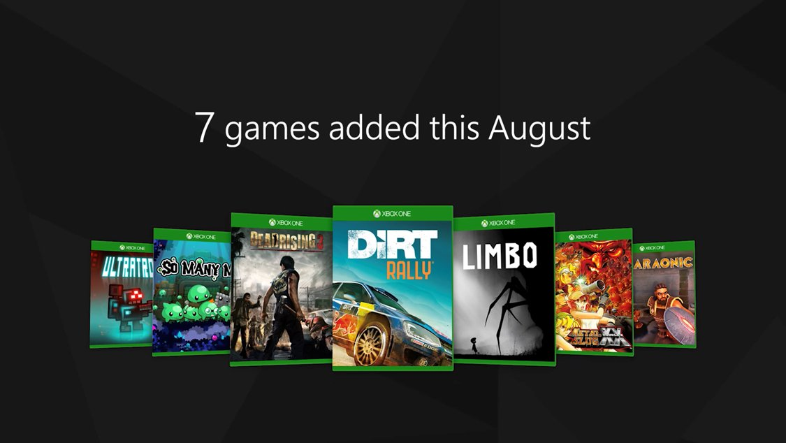 Otros 7 juegos se añaden a Xbox Game Pass: Dead Rising 3, Dirt Rally...