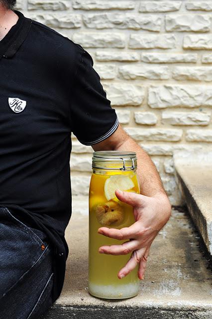 Mon kéfir au citron et à la figue