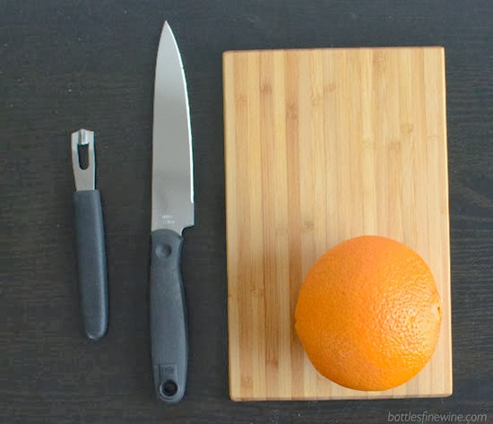How to Make an Orange Peel Carved Pumpkin Garnish