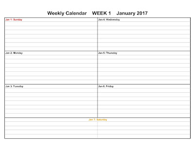 2017 Weekly Calendar Templates, weekly 2017 calendars templates, Weekly 2017  Printable Calendar Templates, Weekly 2017  Printable Calendars, Free Weekly Printable 2017 Calendar Templates, Free weekly printable 2017 calendars, Weekly Printable Calendars Templates,  Printable Weekly Calendars Templets