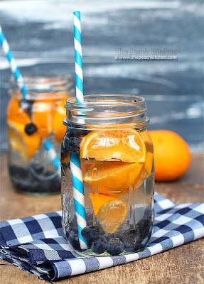 Infused water, minuman sehat, minuman segar, rahayupawitri blog