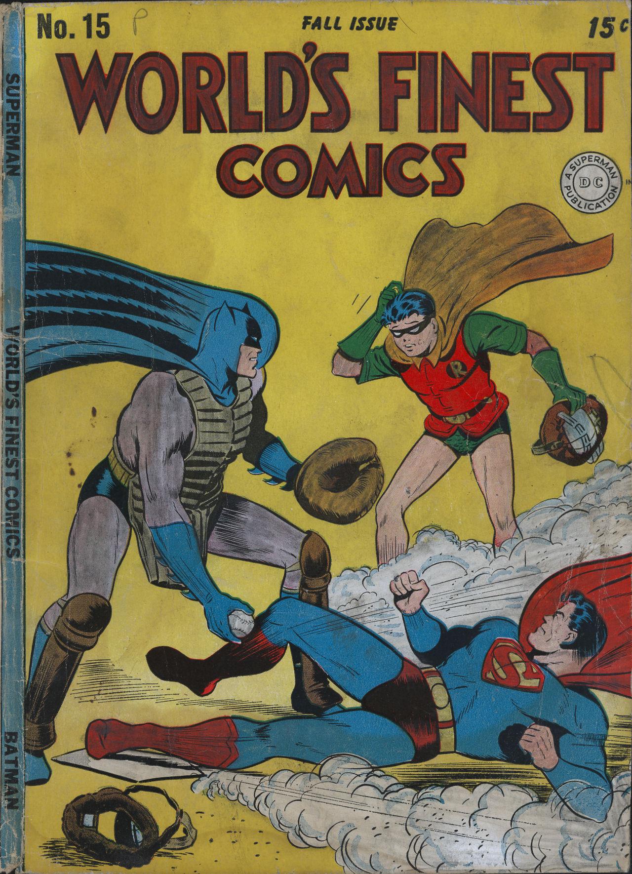 Read online World's Finest Comics comic -  Issue #15 - 1