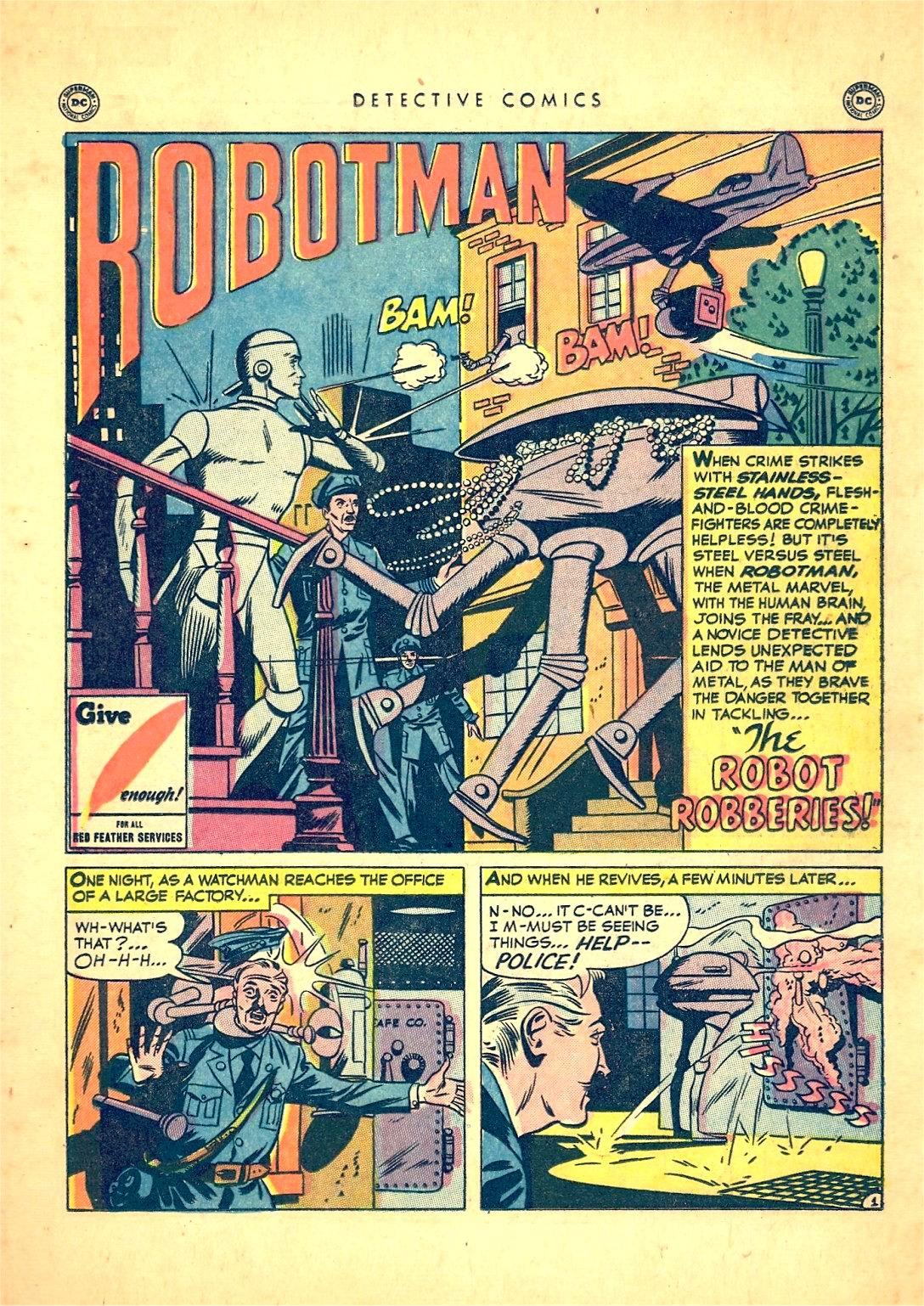 Read online Detective Comics (1937) comic -  Issue #166 - 27