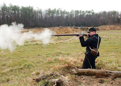 Springfiel musket tir fusil
