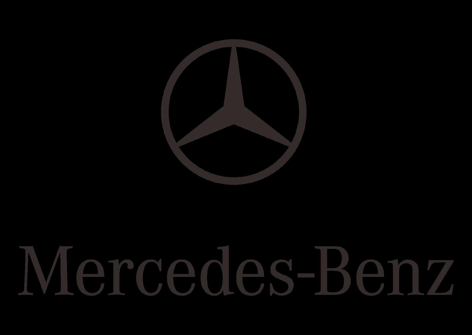 Mercedes Benz (Design part-2) Logo Vector (Automobile manufacturer)~ Format Cdr. Ai. Eps. Svg. PDF. PNG