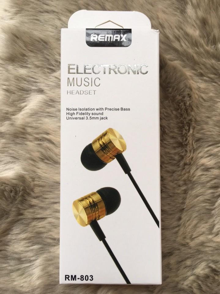 Tai nghe nhét tai Remax RM803 giá sỉ và lẻ rẻ nhất 0230
