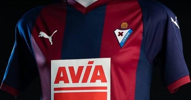70883e2575 Puma apresenta as novas camisas do Eibar - Show de Camisas