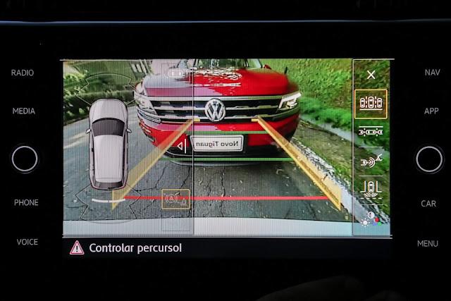 VW Tiguan AllSpace 2019 R-Line - câmera de ré