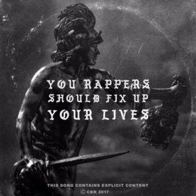 MUSIC: YOU RAPPERS SHOULD FIX UP YOUR LIVES || MI ABAGA