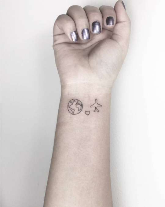 16 Best Tattoo Ideas For Travellers