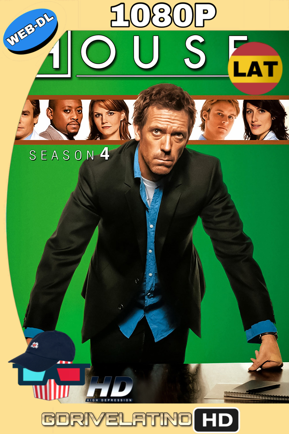 Dr. House Temporada 4 (2007) (16/16) WEB-DL 1080p (Latino-Inglés) MKV