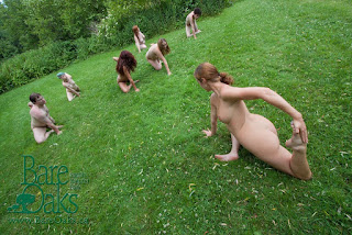 Nude Yoga at Bare Oaks Family Naturist Park