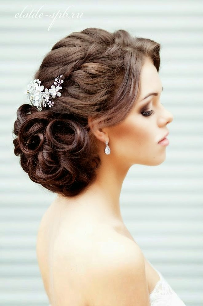 Best Hair Style For Wedding Best Wedding Hairstyles Of 2014  Belle The Magazine