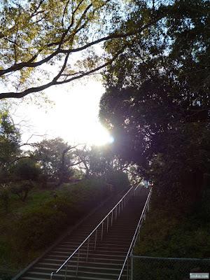 大阪城の階段