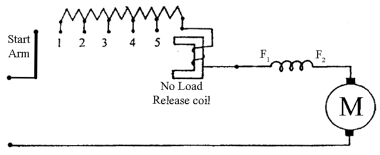 dc motor starter wiring diagram free picture