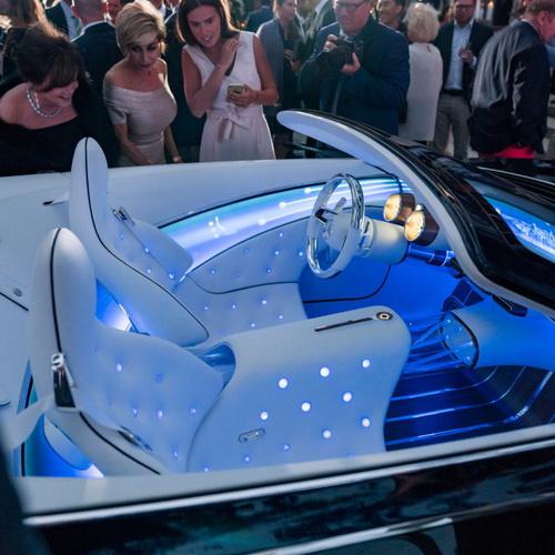 Tinuku Daimler brings Mercedes-Maybach 6 Cabriolet to Monterey