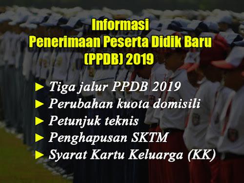 Petunjuk Teknis PPDB 2019